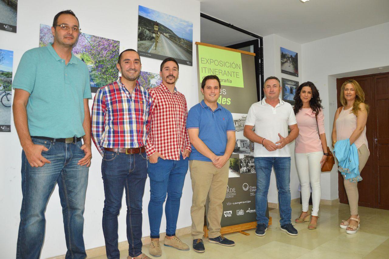 Inauguración Exposición Fotográfica Raíles Verdes en Albudeite