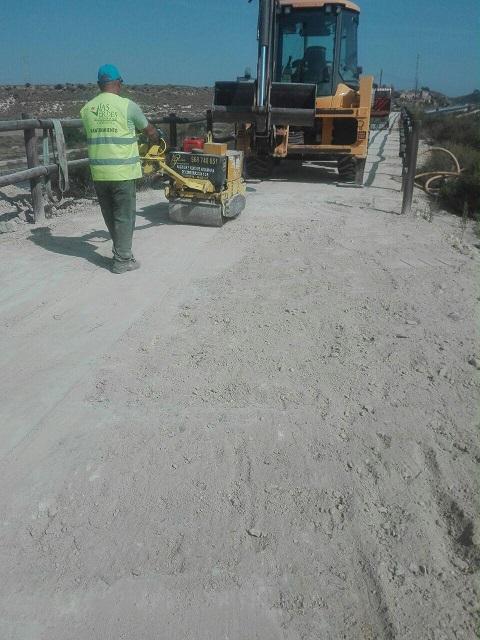 La Vía Verde de Mazarrón queda abierta nuevamente
