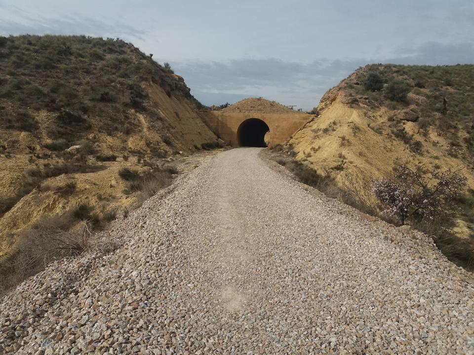 Obras finalizadas en la Vía Verde de Almendricos y la Vía Verde del Noroeste